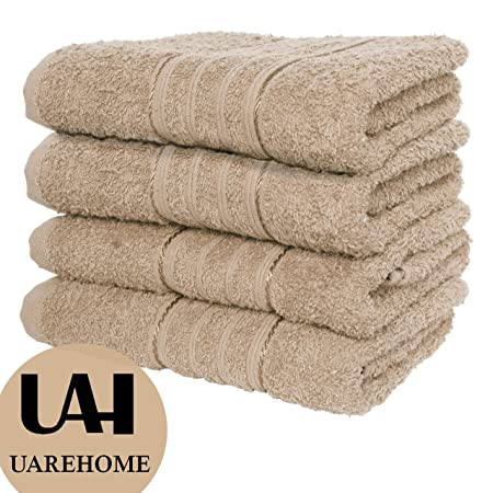 EVELYN LIVING 8 Piece Towel Bale Set 100/% Egyptian Cotton Face Hand Bath Bathroom 4 Face Towels 2 Hand Towels and 2 Bath Towels 500 GSM Grey