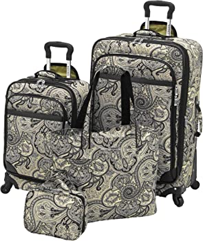 Waverly Boutique Softside Spinner 4-Piece Luggage (4-Piece)