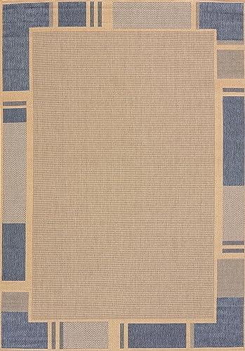 United Weavers of America Terrace Area Rug, 5 3 x 7 6 , Blue