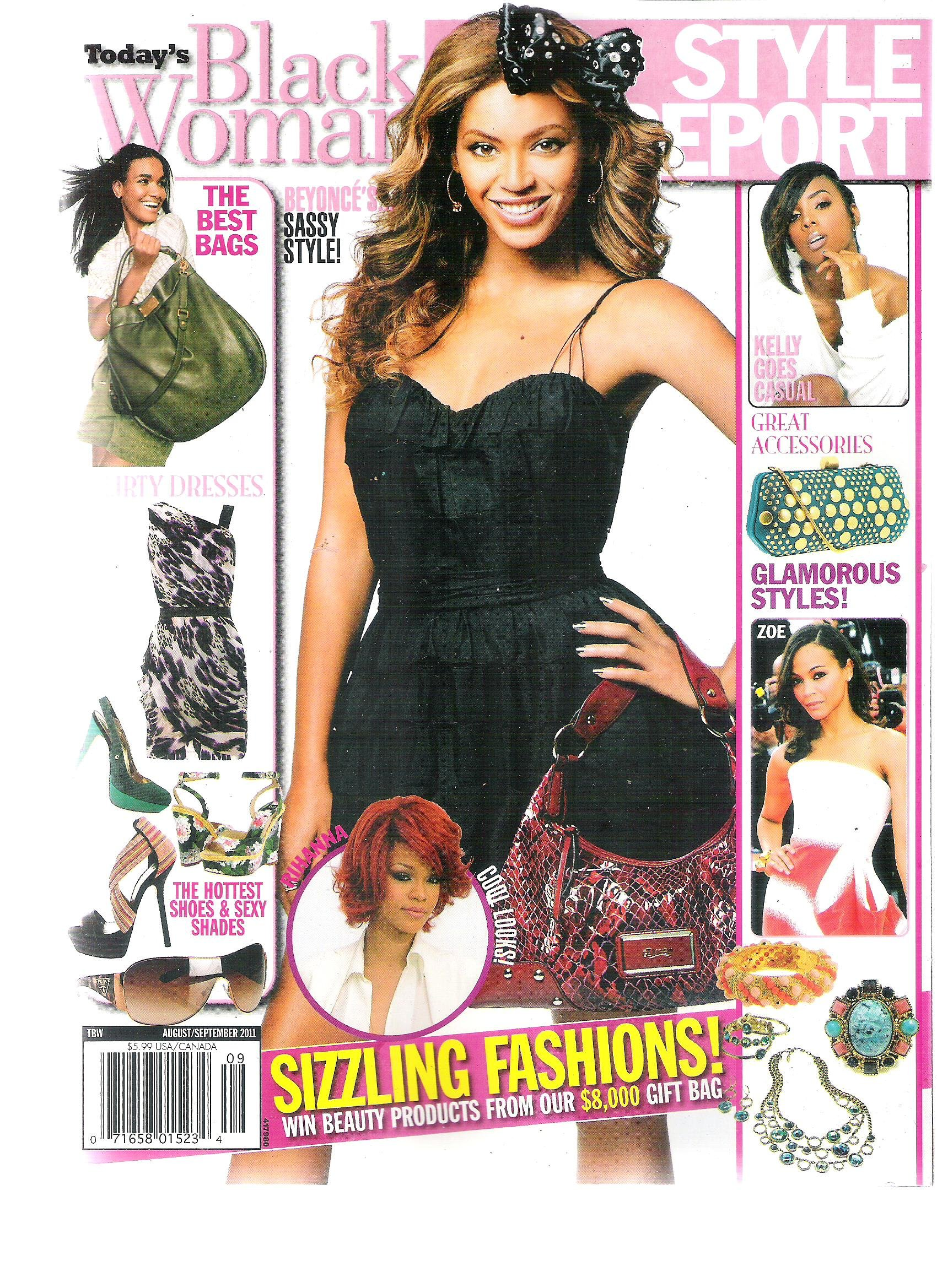 Today's Black Woman Style Report Magazine (Sizzling Fashions, August September 2011) PDF