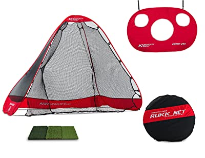 Rukket Portable Driving Range 3 in 1 Golf Set