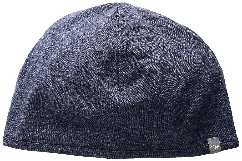 Icebreaker Unisex Pocket Beanie Hat - Fathom Heather Midnight Navy ... bc637129ccc