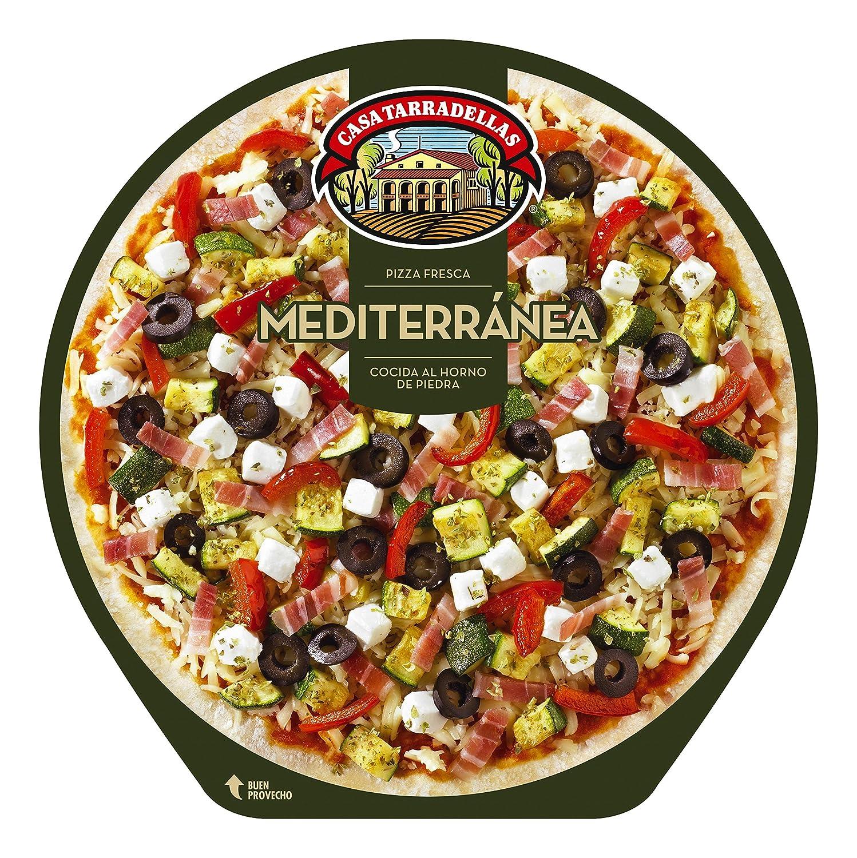 Casa Tarradellas - Pizza Fresca Mediterránea, 410 g: Amazon.es: Alimentación y bebidas