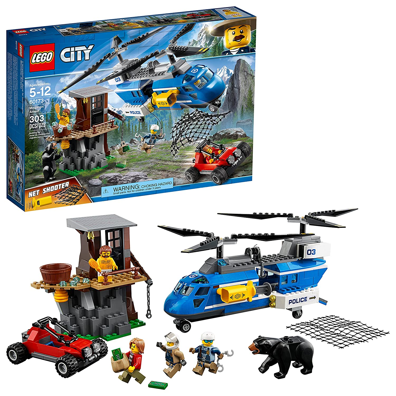 LEGO City Police 6209770 Mountain Arrest 60173 Building Kit (303 Piece)