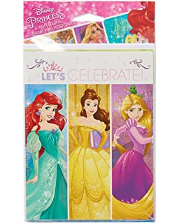 Amazoncom Disney Princess Dream Party Invitations ThankYou
