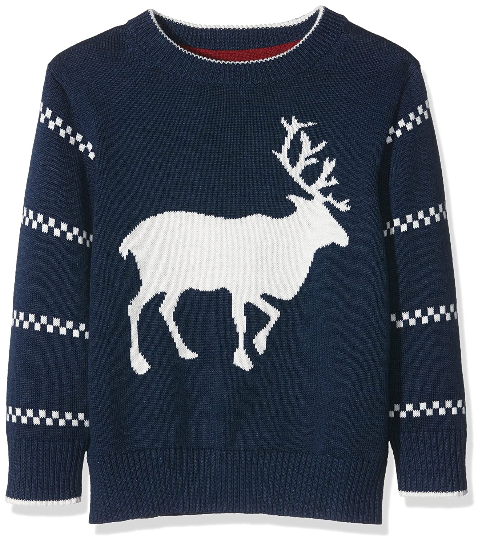 GANT Jungen Pullover O. Reindeer Crew