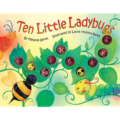 Bendon 45600 Piggy Toes Press Ten Little Ladybugs Counting Storybook: Toys & Games