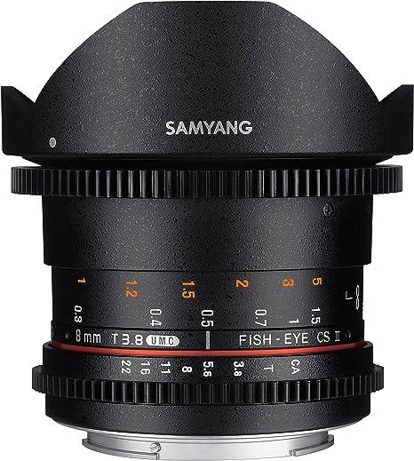 Samyang F1322401101 - Objetivo para vídeo VDSLR para Canon EF ...