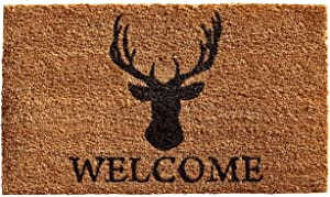 Home & More 121471729 Deer Welcome Doormat