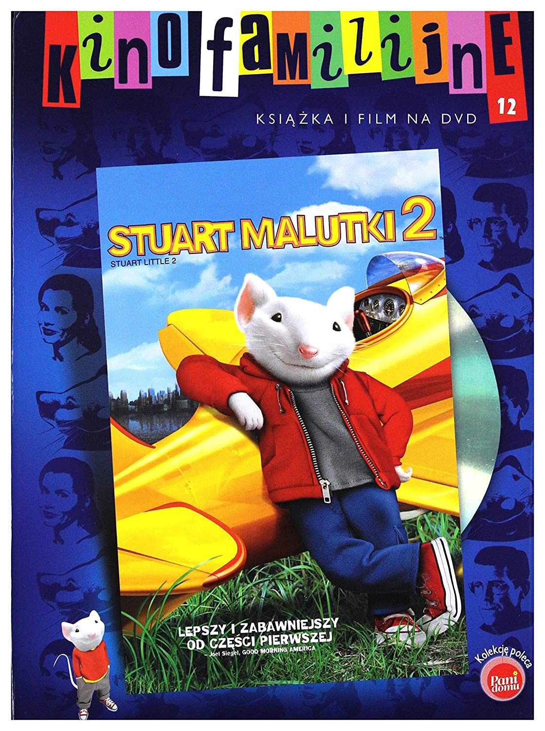 Amazon Com Stuart Little 2 Dvd English Audio English Subtitles Michael J Fox Geena Davis Hugh Laurie Jonathan Lipnicki Anna Hoelck Ashley Hoelck Nathan Lane Melanie Griffith James Woods Steve Zahn Rob Minkoff