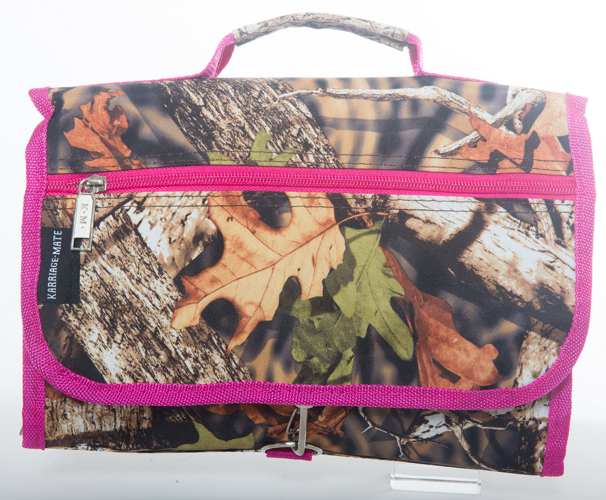 Artisan Owl Hanging Toiletry Bag-Travel Organizer Cosmetic Make up Bag case for Women Men Kit with Hanging Hook for Vacation, Travel (Camo)