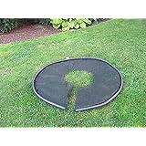 Shrub Trimming Clip Catcher - 5ft circular Heavy Duty Black