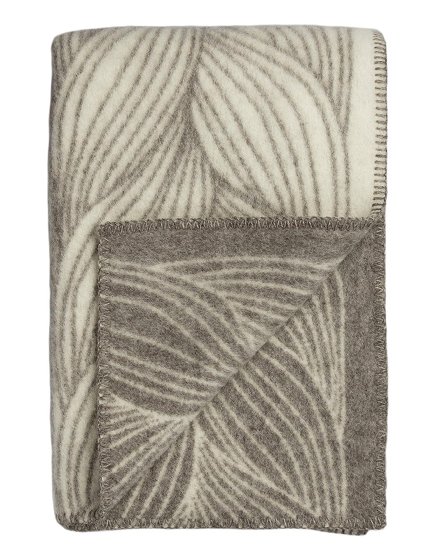 Roros Tweed Plaids – finewool Überwurf  Flechthilfe (200 cm x 130 cm)