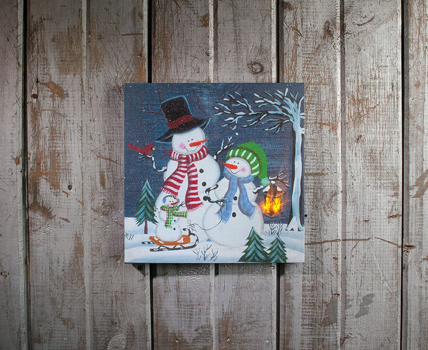 from our Snowmen Collection Inc X42946 Ohio Wholesale Small Snow Business Klipper Kanvas Wall Art