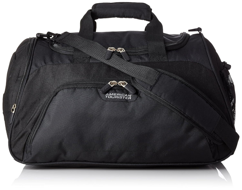 American Tourister - Road quest sportsbag bolso de gimnasio, negro sólido (black), 50 cm, 38 L 74147/1817
