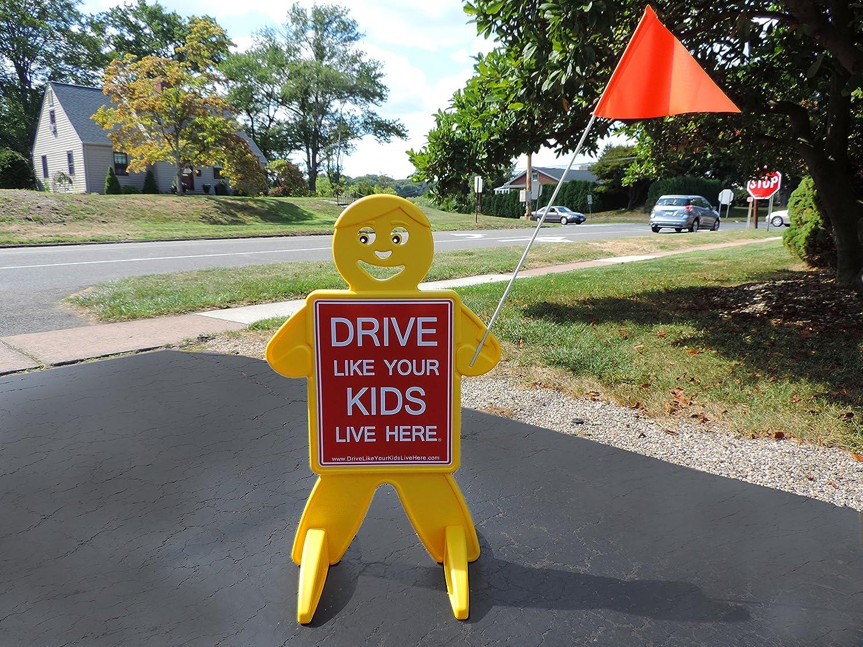 amazoncom  drive like your kids live here safety kid slow  - amazoncom  drive like your kids live here safety kid slowchildren atplay reminder  baby