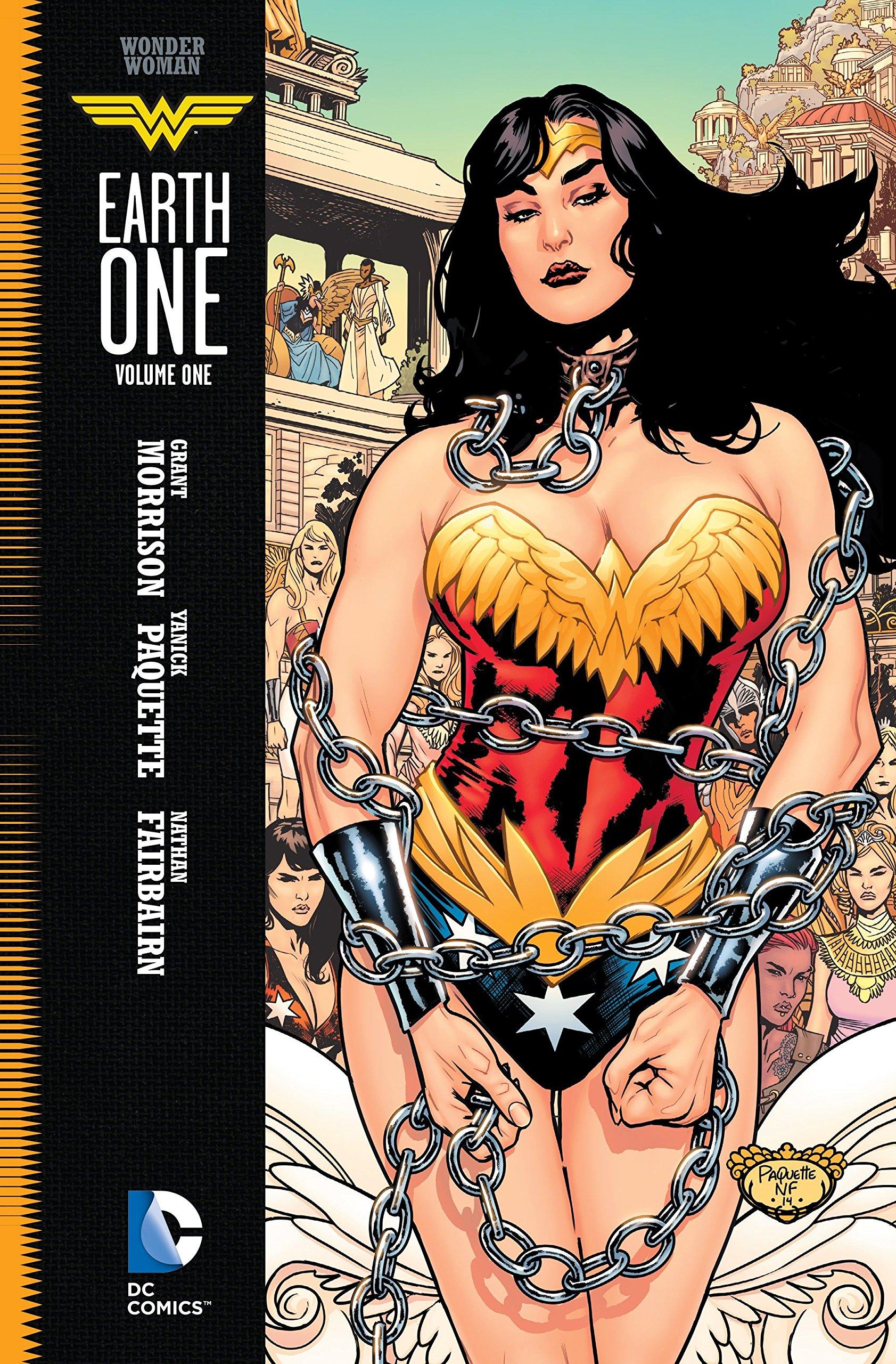 eca0cad5 Wonder Woman: Earth One Vol. 1: Grant Morrison, Yanick Paquette ...