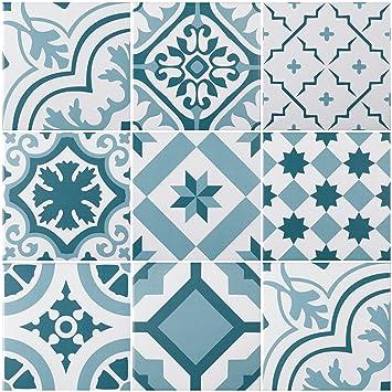 Mediterrane Dekorfliese Lissabon Mit 10 Verschiedenen Mustern