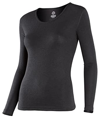 f7a01299 ColdPruf Women's Platinum Dual Layer Long-Sleeve Crew-Neck Top