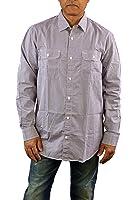 Hart Schaffner Marx Mens Long Sleeve Woven Shirt Large, Burgundy