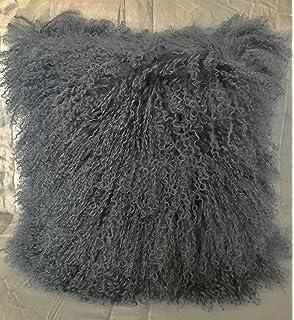Amazon.com: Alfombra de pelo de oveja, piel de cordero ...