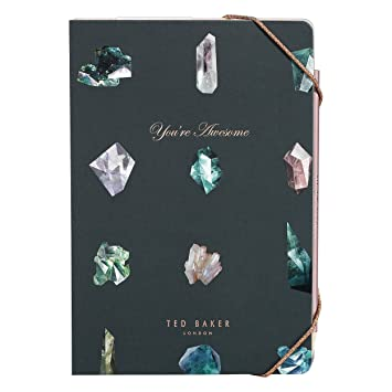 521d6b15134350 Ted Baker A5 Notebook with Sticky Notes
