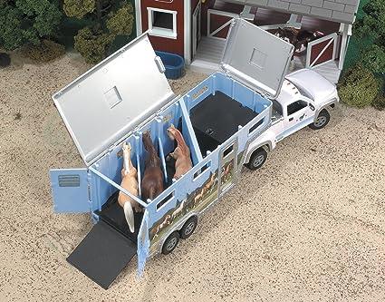 Breyer - Pick Up Truck And Gooseneck Trailer: Amazon.es: Juguetes y juegos