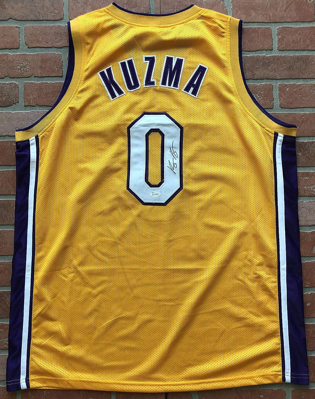 new concept 73c73 c8236 Kyle Kuzma autographed signed jersey NBA Los Angeles Lakers ...