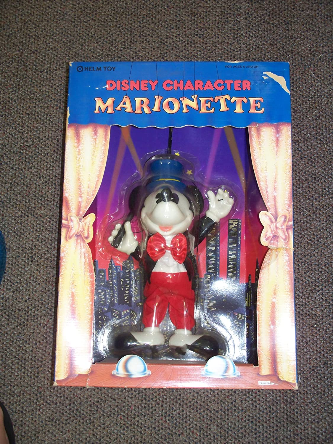 """B00F3JJRJS Disney Charactor Marionette By Helm Toy 10"""" Mickey Mouse A1TgJhgKL1L.SL1500_"""