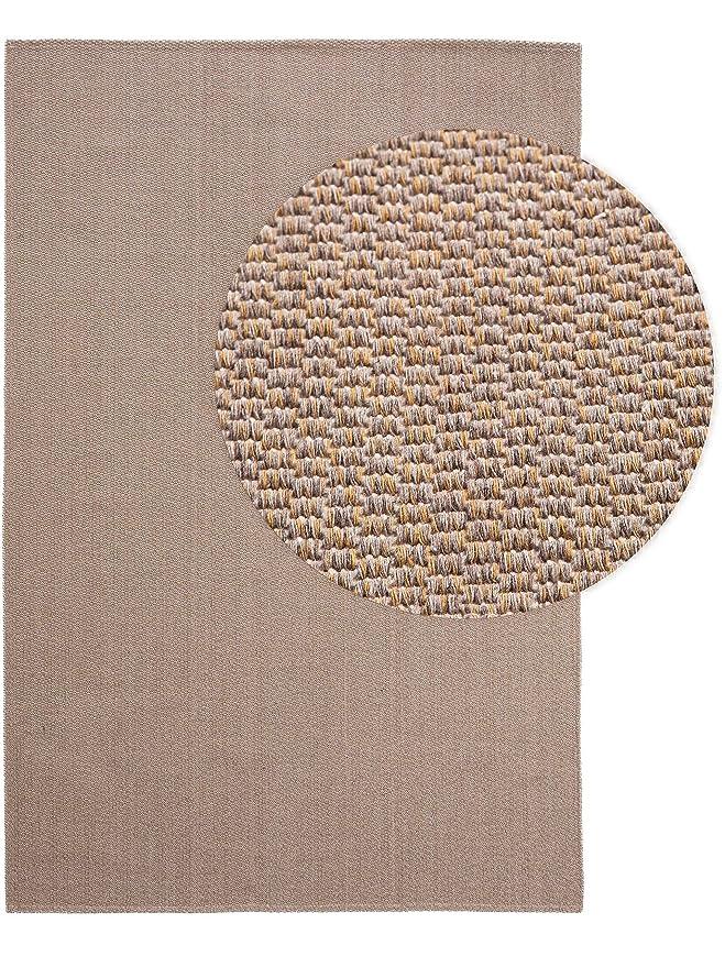 benuta NaturalLS - Alfombra de algodón Lavable, Pardo, 130 x 190 ...