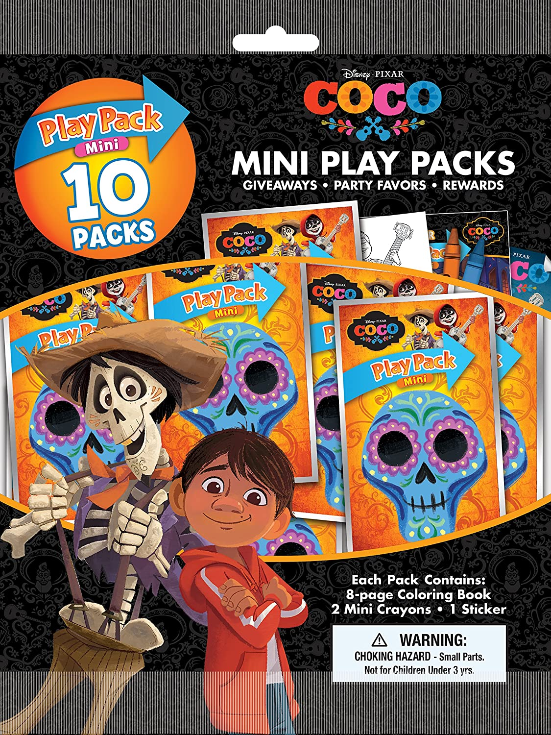Amazon com bendon coco 10 mini play packs toys games