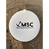 Marine Speaker Covers 6.5 inch   Sold As Pair   Sun, Water, Dust Protection   Patented, Military-Grade Silicone Design   Blac