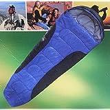Adventuridge Mummy Sleeping Bag Blue/Black #25258677
