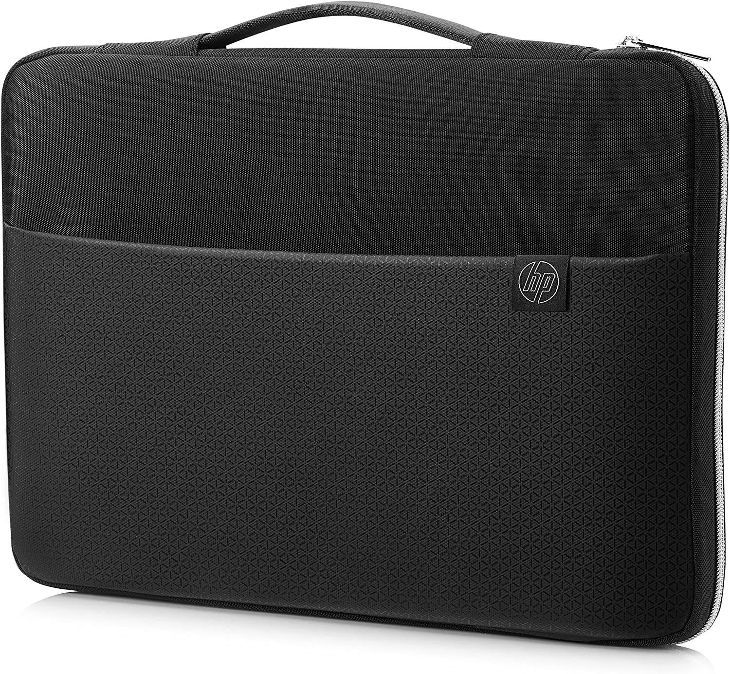 HP Duotone 17.3 Inch (43.9 cm) Black & Silver Carry Sleeve for Laptop/Chromebook/Mac