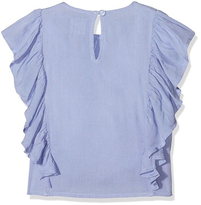 e7c71a3b8 Carrément Beau Y15213, Blusa para Niñas, Azul (Bleu LAVVANDE 880), 4 ...