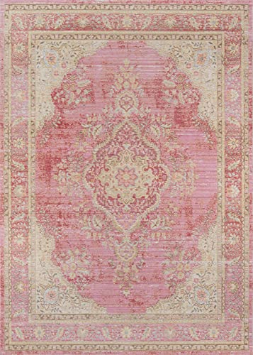 Momeni Rugs Isabella Traditional Medallion Flat Weave Area Rug