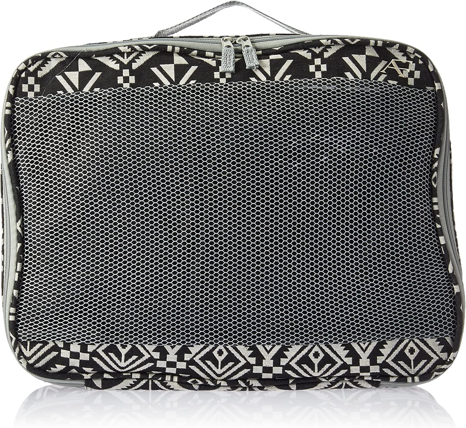 American Flyer Aztec Perfect Packing System 3 Pc Set Black White