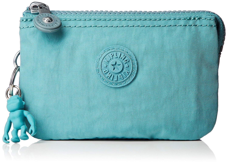 Porte-monnaie femme Kipling Creativity S Aqua Frost 14.5x9.5x5 cm B x H T Bleu