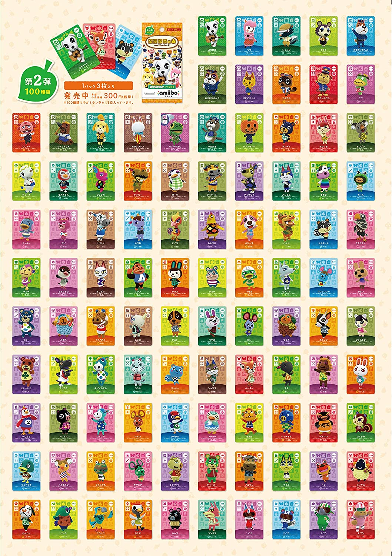 Nintendo Animal Crossing amiibo card 2nd (5 packs): Amazon.es ...