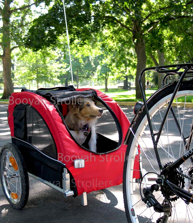 Booyah Medium Dog Stroller Pet Bike Trailer With