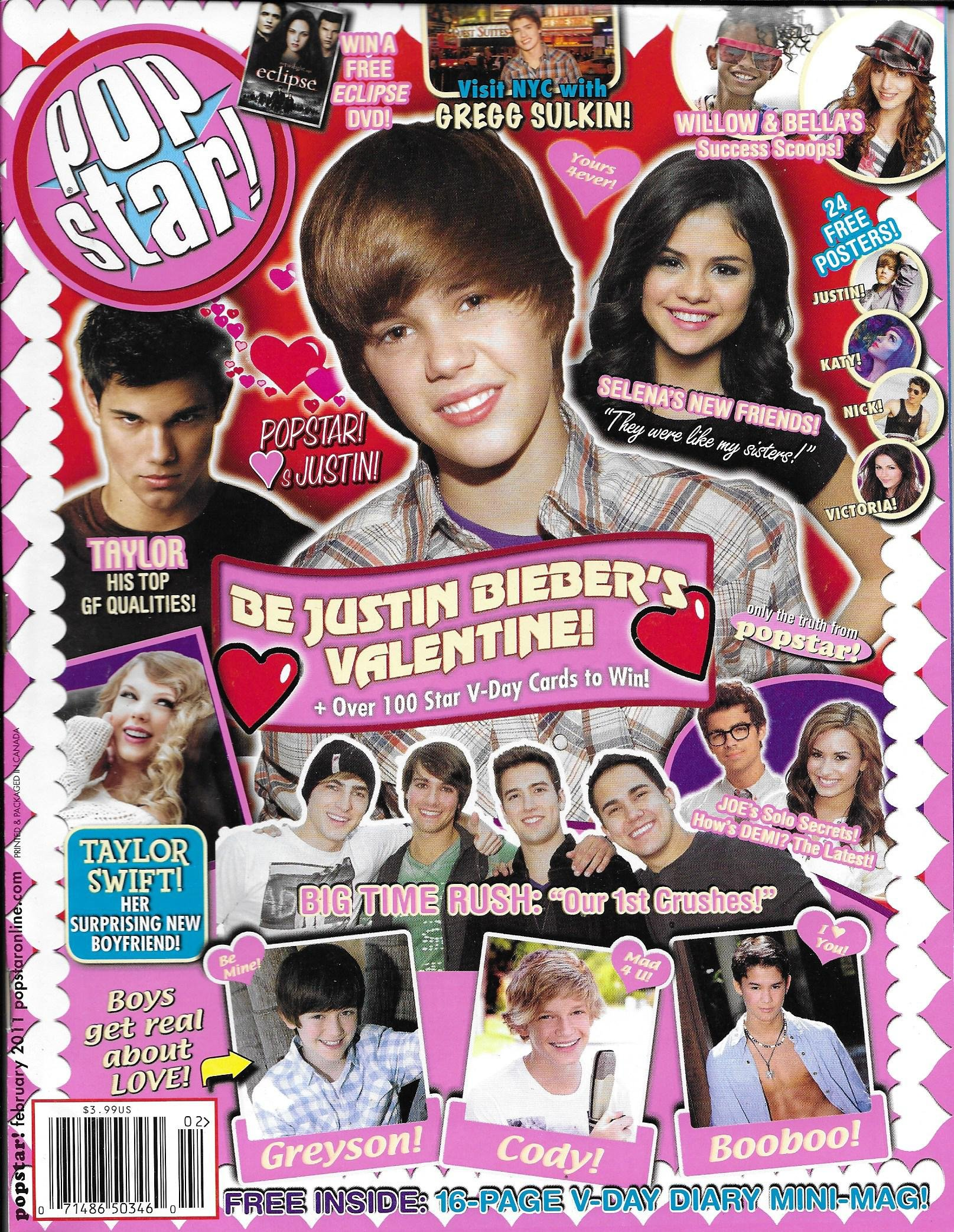 Read Online Pop Star magazine February 2011 PDF