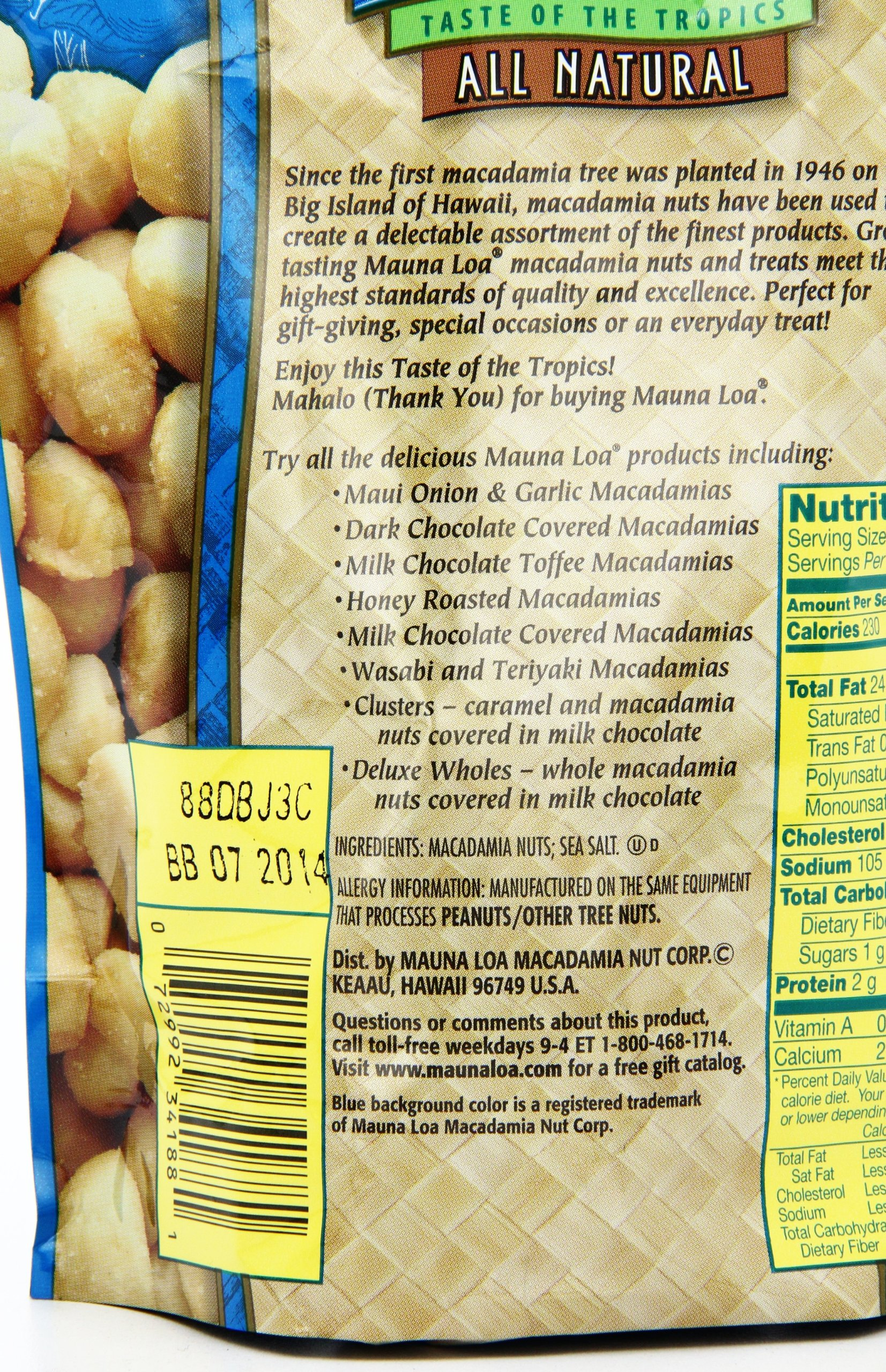 Mauna Loa Macadamias, Dry Roasted with Sea Salt, 11-oz. by Mauna Loa (Image #11)