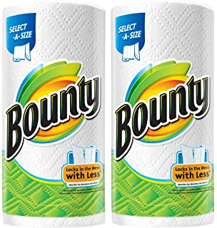 Bounty, Select-a-Size, 2 x More Absorbent Paper Towels, 168