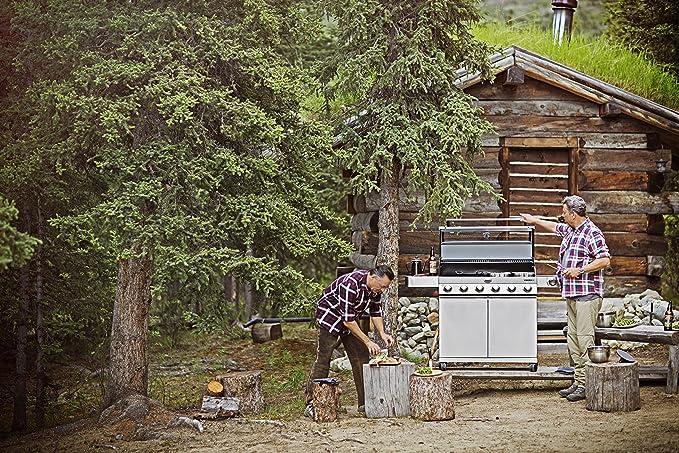 Rösle Gasgrill Videro G6 : RÖsle bbq station videro g6 stahl schwarz 157 x 60 x 118 cm 5