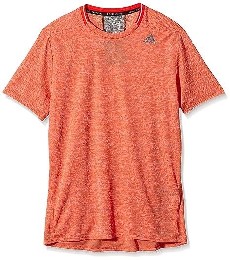 adidas SN S/S M - Camiseta para hombre, color naranja, talla XS