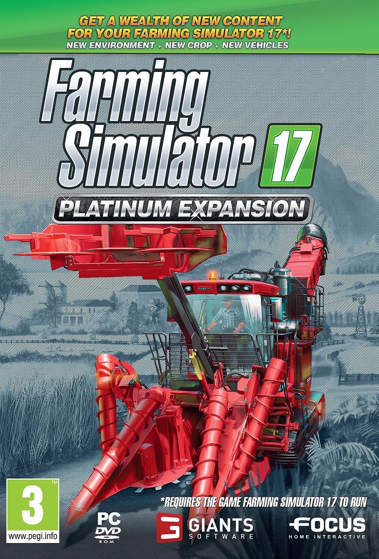 Farming Simulator 17 Platinum Expansion (PC DVD): Amazon co