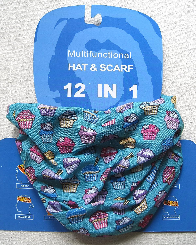 CHILD SIZE Cupcakes Multifunctional Headwear
