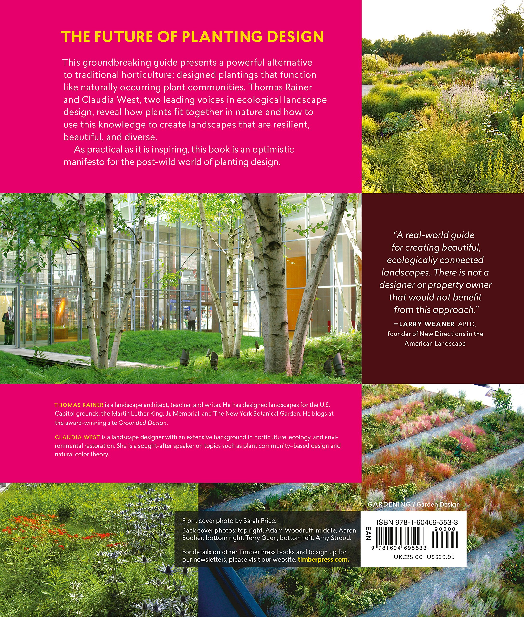 Planting In A Post Wild World: Designing Plant Communities For Resilient  Landscapes: Thomas Rainer, Claudia West: 9781604695533: Amazon.com: Books