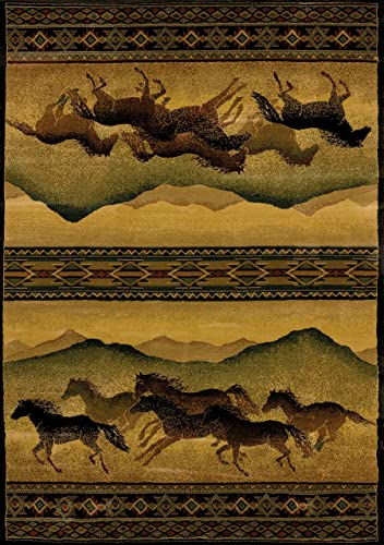 CHESTNUT MARE LO Rug from the GENESIS Collection 94 x 126 by United Weavers