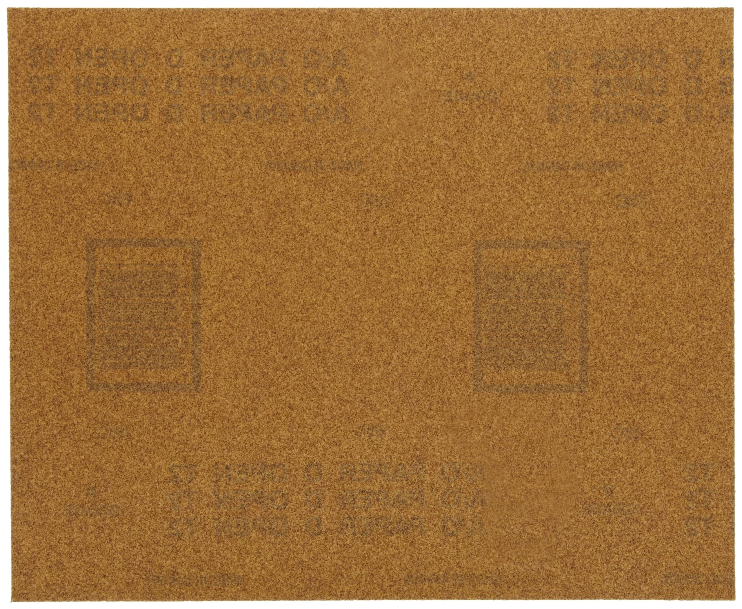Norton Multisand Job Pack Abrasive Sheet, Paper Backing, Aluminum Oxide, Grit P180 (Pack of 25)